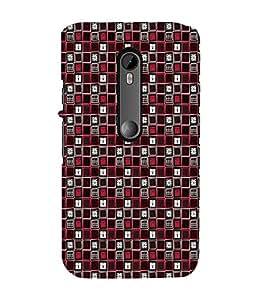 EPICCASE biased locks Mobile Back Case Cover For Moto G 3rd Gen (Designer Case)