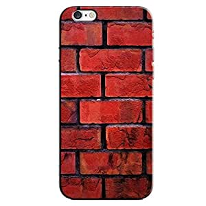 RED STONE WALL BACK COVER APPLE IPHONE 6S