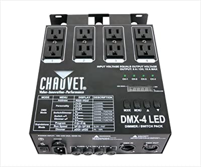 Chauvet DMX4 LED Lighting