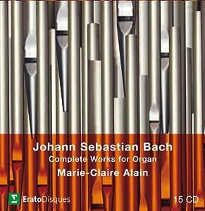 Bach : L'Intégrale de l'oeuvre pour orgue (Coffret 15 CD)