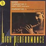 Mahler: Symphony No. 3; Symphony No. 1