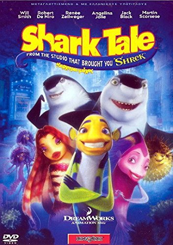 Shark Tale (2004) DVD Region 2 PAL 86 Min. Animation | Adventure | Comedy Stars: Will Smith, Robert De Niro, Renée Zellweger Languages: English, Greek, Hebrew, Croatian. Subtitles: English, Greek, Hebrew, Croatian, Bulgarian, Romanian, Serbian. (Shark Tales 2 compare prices)