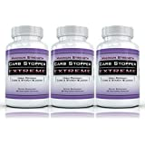 CARB STOPPER EXTREME (3 Bottles) - Maximum Strength Carbohydrate & Starch Blocker Weight Loss Supplement with White Kidney Bean Extract