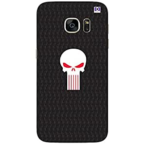 Red & White Skull - Mobile Back Case Cover For Samsung Galaxy Note 7