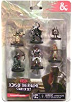 Wizkids - 332561 - Dungeons And Dragons Icones Miniatures Jeux Débutant Realms Donjons Et Dragons