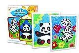 NEO - Dibujo con arena: Panda y Cebra, juego creativo (2007-02)