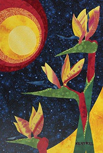 Toland Home Garden Paper Mache Flowers 12.5 x 18-Inch Decorative USA-Produced Garden Flag