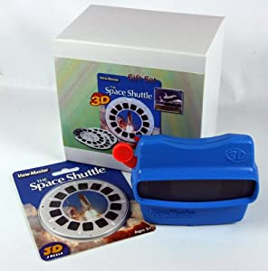 Space Shuttle ViewMaster Gift Set - Viewer and 21 3D Images