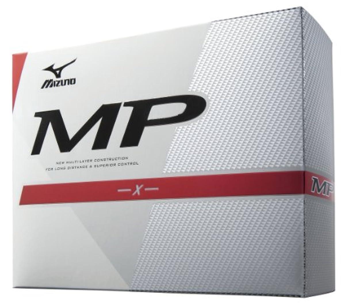 [해외] MIZUNO(미즈노) MP-X 2013년 모델 골프 볼12P 45OM84310 (2013-02-22)