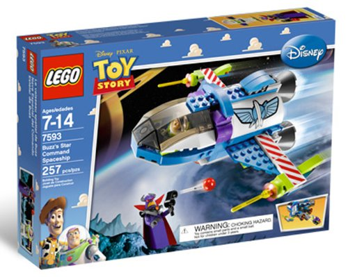 Lego Toy Story Buzz's Star Command Ship Set (7593) Amazon.com