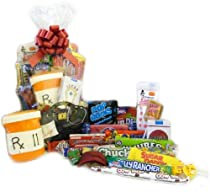 Doctor Bag Retro Candy Gift Basket with Free Cookie