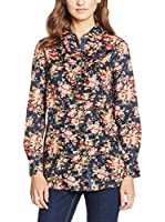 CONTE OF FLORENCE Camisa Mujer (Azul / Multicolor)