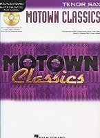 Instrumental Play Along Motown Classics Tenor Sax Bk/Cd