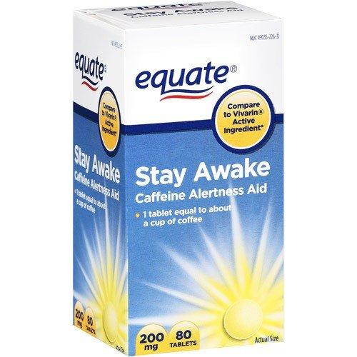 Equate - rester éveillé - Comparer à Vivarin -