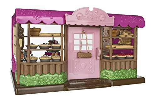 Lil Woodzeez Tickle Your Taste Buds Bakery Set - Can Be Used With All Families and Environments - Ages 3+ (Lil Woodzeez Treehouse compare prices)