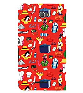 Ebby Premium Printed Mobile Back Case Cover With Full protection For Sony Xperia E4 Dual (Designer Case)
