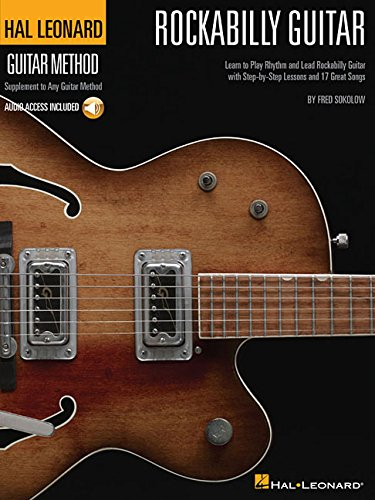 Fred Sokolow: Hal Leonard Rockabilly Guitar Method (Hal Leonard Guitar Method)