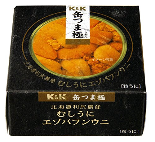 KK 缶つま極 北海道利尻島むしうにエゾバフン 100g