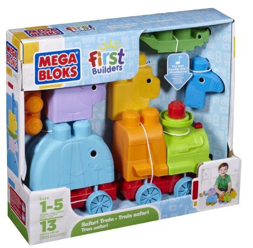 Mega Bloks First Builders - Animal Safari - 1