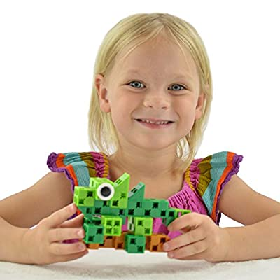 Click-A-Brick Rainforest Rascals 30pc Educational Toys Building Block Set - Best Gift for Boys and Girls by Click-A-Brick