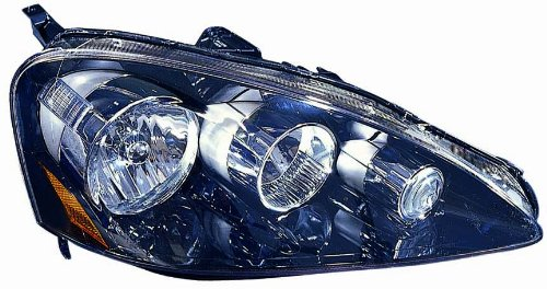 Depo R US Acura RSX Passenger Side Replacement Headlight - Acura rsx headlight bulb