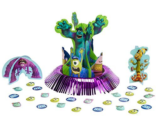 Disney Monsters University Party Table Decorations Kit ( Centerpiece Kit ) 23 PCS - Kids Birthday and Party Supplies Decoration