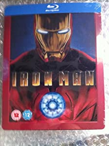 Iron Man (Limited Edition Steelbook) [Blu-Ray]