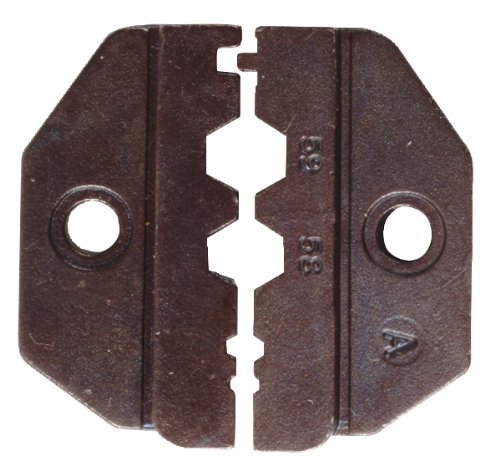 Greenlee 45556 Interchangeable Die Sets for Coaxial Connectors RG58, RG59 Plenum and Non-Plenum Thinwire