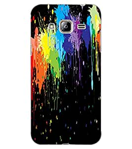 ColourCraft Abstract image Design Back Case Cover for SAMSUNG GALAXY J3
