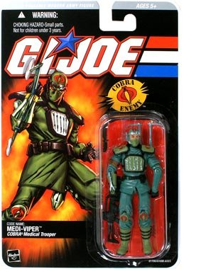 G.I. Joe Series 1 > Medi-Viper Action Figure