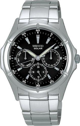 [ワイアード]WIRED 腕時計 エコテックソーラーモデル AGBD018 メンズ