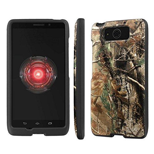 NakedShield Motorola DROID MAXX XT-1080M Hunter Camouflage Total Hard Armor LifeStyle Phone Case