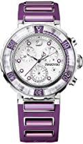 Swarovski Octea Chrono Watch - Fuchsia