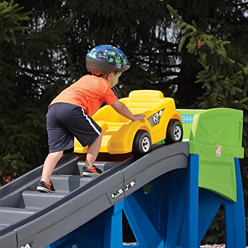 Step2 Outdoor Toys Playground Coaster Car Ride On Slide