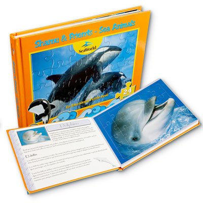 Cheap SeaWorld Sea Life Puzzle Book (B003E135QI)