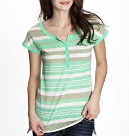 Caryn Striped Henley