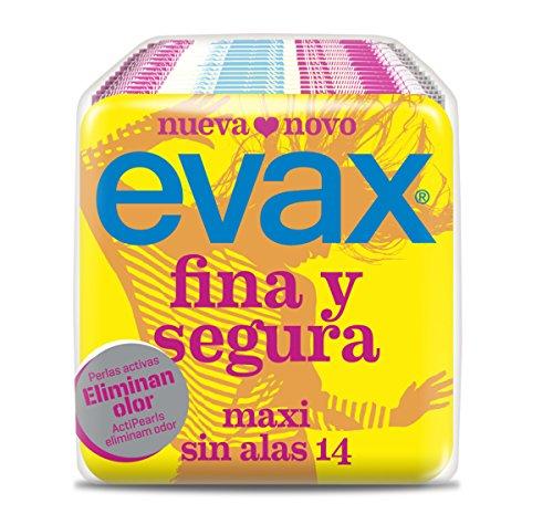 Evax Compresa Maxi senza Alas Fina e Segura - 14 unità