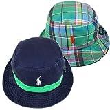 (ポロラルフローレン) POLO RALPH LAUREN[品番1553881] Stripe Tape Reversible Hat リバーシブルハット) (並行輸入品)