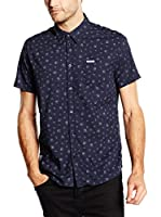 Pepe Jeans London Camisa Hombre Tomas (Azul Oscuro)