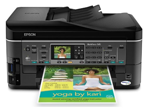 Epson WorkForce 545 Color Inkjet Wireless All-In-One