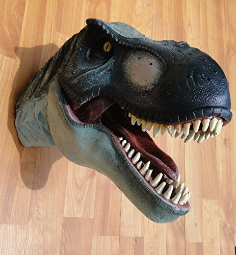SMALL T Rex Wall Mounted Trophy Head Jurassic Park terra nova display