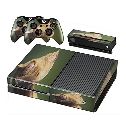 reptiles-10001-skin-sticker-vinyl-cover-with-leather-effect-laminate-and-colorful-design-for-xbox-on