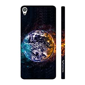 Enthopia Designer Hardshell Case Water Earth Fire Space Back Cover for Sony Xperia XA