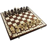 Chess Set - Royal 48 European Wood International - Handcrafted in Poland