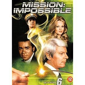 Mission Impossible: L'intégrale de la saison 6 - Coffret 6 DVD [Import bel