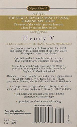 The Life of Henry V (Signet Classic Shakespeare)