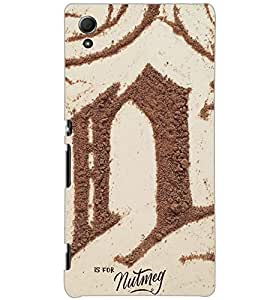 SONY XPERIA Z4 SAND Back Cover by PRINTSWAG
