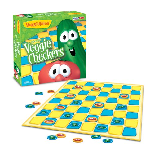 Veggie Tales Checkers