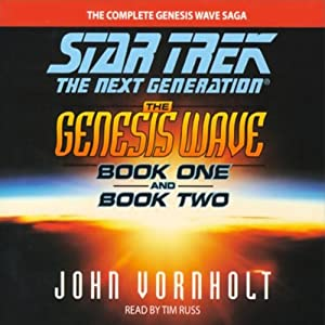 Star Trek, The Next Generation: The Genesis Wave, Book 1 (Adapted) | [John Vornholt]