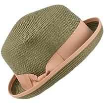 3 in 1 Flip Up Flip Down Beach Summer Bucket Cloche Fedora Packable Hat Gray